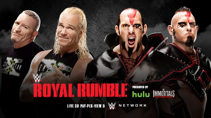 Royal Rumble 2015 The Ascension New Age Outlaws