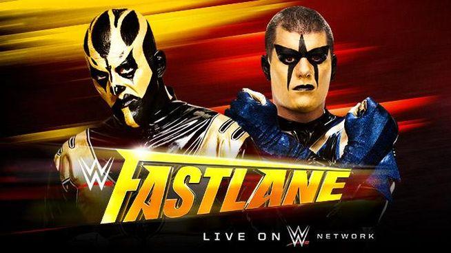 Fastlane 2015 Goldust vs Stardust