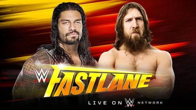Fastlane 2015 Reigns vs Bryan