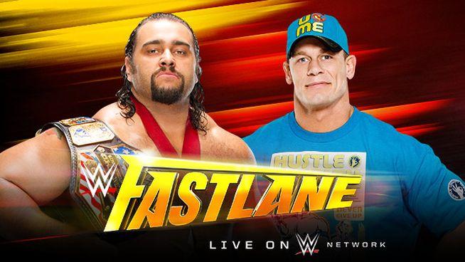 Fastlane 2015 Rusev vs Cena