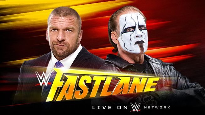 Fastlane 2015 Triple H vs Sting