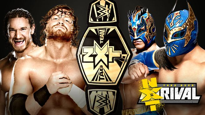 NXT Rivals Lucha Dragons vs Blake i Murphy