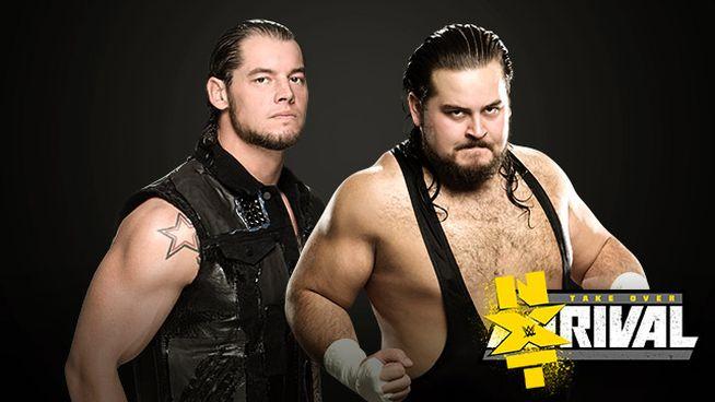 NXT Rivlas Corbin vs Dempsey