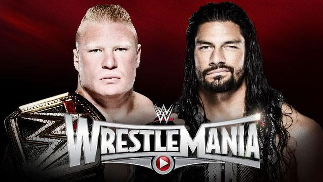 WrestleMania 31 Lesnar vs Reigns