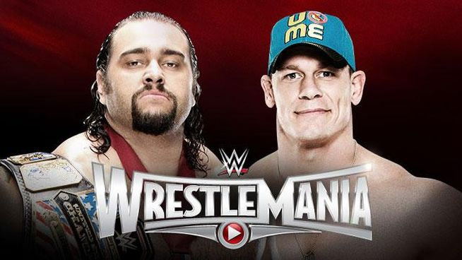 WrestleMania 31 Rusev vs Cena