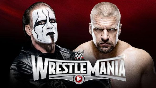 WrestleMania 31 Sting vs Triple H