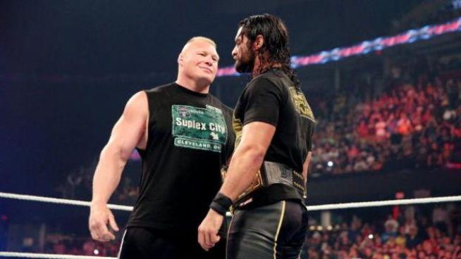 Lesnar/Rollins