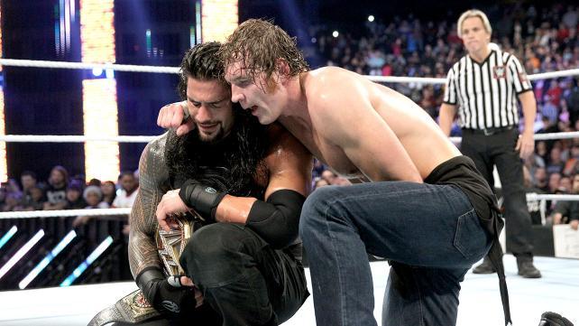 Reigns vs Ambrose