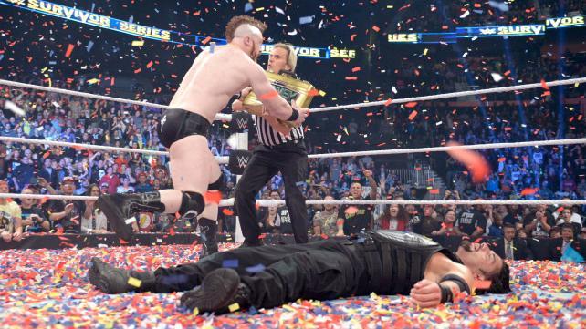 Reigns vs Sheamus