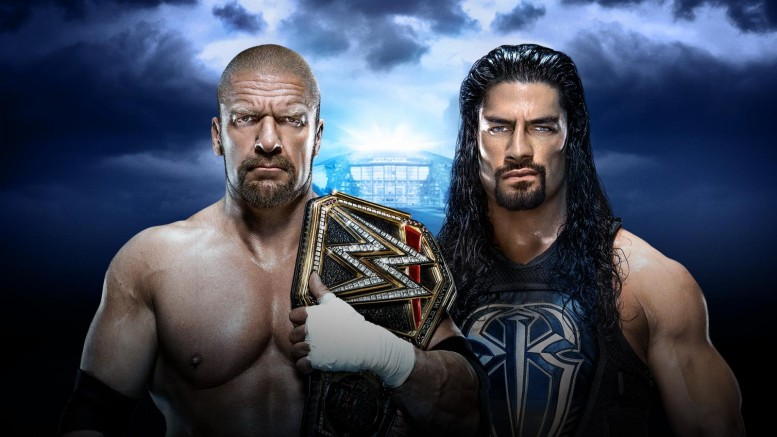 Triple H vs Roman Reigns WM32