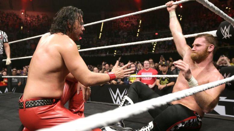Nakamura vs Zayn Dallas
