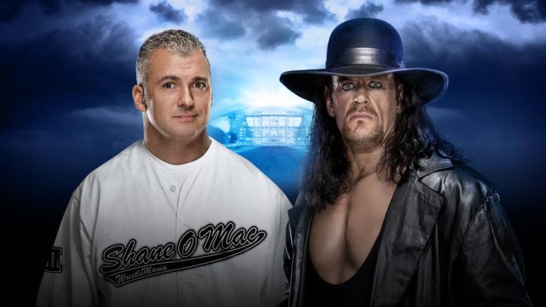 Shane McMahon vs The Undertaker WM32