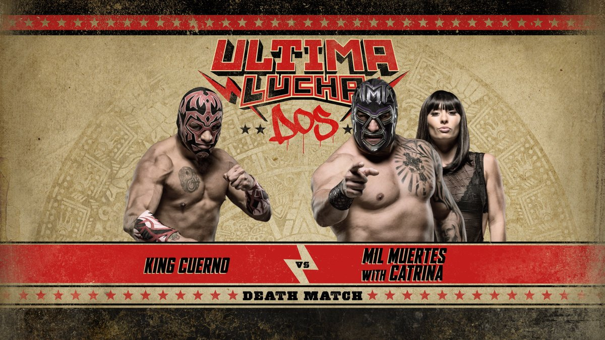Ultima Lucha Dos King Cuerno vs Mil Muertes