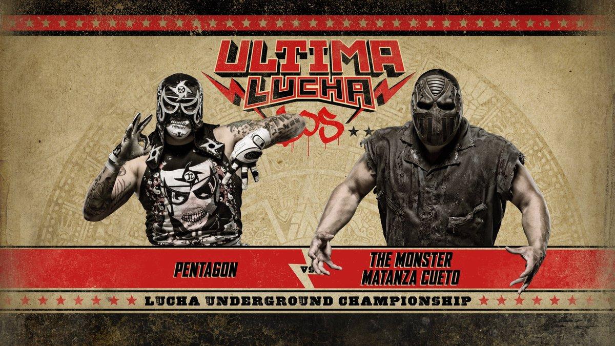 Ultima Lucha Dos Pentanog Jr vs Matanza