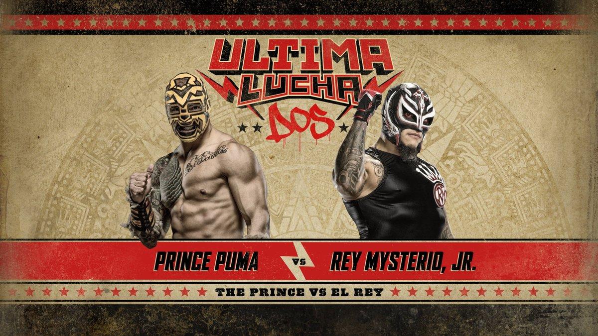 Ultima Lucha Dos Prince Puma vs Rey Mysterio